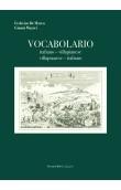 Vocabolario - italiano villapianese - villapianese italiano