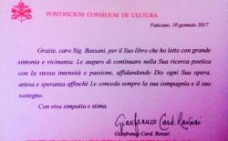 """""""Lechitiel"""" di Andrea Bassani letto in Vaticano"""